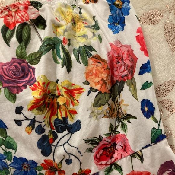 Flowery romper